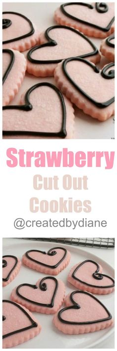 Think chocolate covered strawberries in cookie for…
