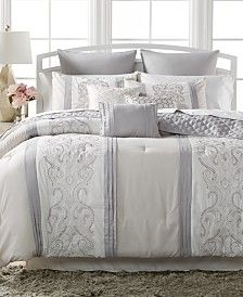 Leona 10-Pc. Comforter Sets, Only at Macy's