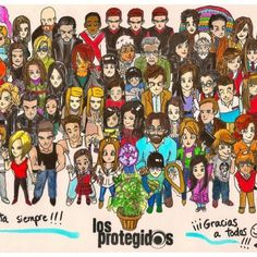 Los protegidos Tv Series, Comics, My Love, Image, Pageants, Best Series, I Will Protect You, Novels, Get Well Soon