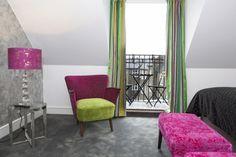 Absalon Hotel balkongrom