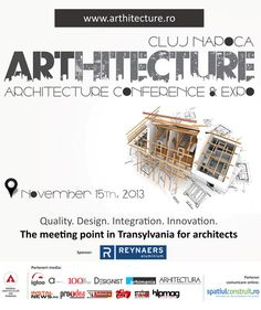 ARThitecture Conference & Expo, Cluj Napoca, Romania