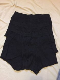 Ladies 3 Pack of Grey Charcoal Super Soft Modal Briefs//Shorts  size 16