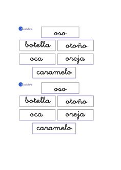 Actividades para niños preescolar, primaria e inicial. Imprimir fichas con vocabulario para niños de preescolar y primaria. Vocabulario. 16