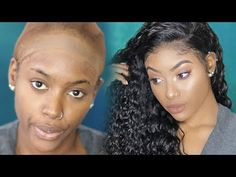 Bald Cap Method of Installing a Lace Wig Lace Front Wigs, Lace Wigs, Weave Hairstyles, Cool Hairstyles, Bald Cap, Curly Hair Styles, Natural Hair Styles, Natural Wigs, Hair Care Tips