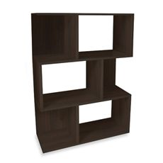 Way Basics Madison Bookshelf in Espresso - Bed Bath & Beyond