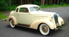 1936 Chevrolet Standard Five Window Coup Re- pin brought to you by #LowcostcarIns at #HouseofInsurance #Eugene,Oregon