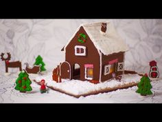 Have a little festive fun and start a new Christmas tradition with our how to make a Christmas gingerbread house video!