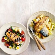 Fresh mackerel salad with fennel and orange recipe - Woman And Home | Mobile