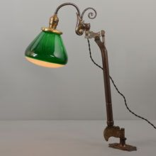 Super Rare Equipoise Fixture w/McCreary Shade, c1910