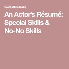 Tips For A Successful Cover Letter  Backstage  Acting