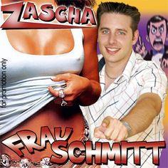 #Zascha Frau Schmitt (2006) #musik #mallorca #party #coverdesign