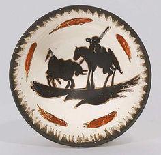 Picador, 1955 Picasso Ceramic