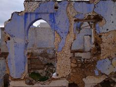 Morocco: Chefchaouen blue ruins