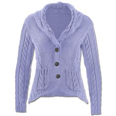 Modell 135/5, Jacke aus Cotonara von Junghans-Wolle « Lila « Farbenfroh « Themenwelten im Junghans-Wolle Creativ-Shop kaufen