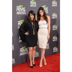 Kim Kardashian Photos - 2013 MTV Movie Awards - Arrivals - Zimbio ❤ liked on Polyvore