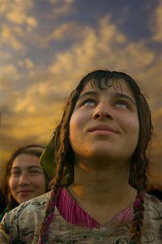 **Roma girl (Romania) by Peter Van beek