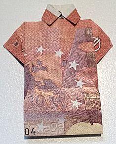 Geldshirt vouwen -- als cadeautje geld geven