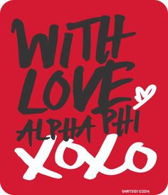 #shirts101 #alphaphi #crush #crushparty #xoxo #greeklife #sorority #withlove