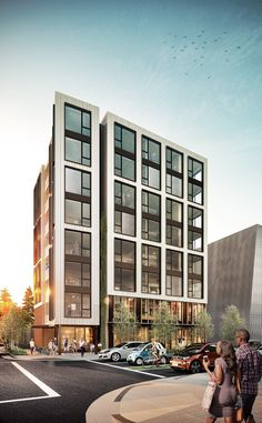 Image 1 of 6 from gallery of PATH Architecture's Catalytic Condominium in Portland is the Tallest Timber Building in the US. via Baumberger Studio