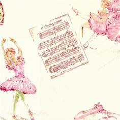 Royal Ballet Fabric by the Yard   Carousel Designs! For Abby's room, euro sham, bed skirt and valance.