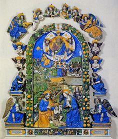 Giovanni della Robbia - Natività - 1521 - Firenze, Museo del Bargello