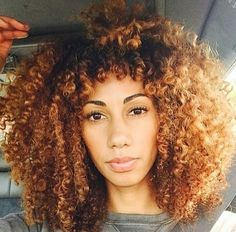 Her hair is life Pelo Natural, Natural Hair Tips, Natural Hair Journey, Natural Curls, Natural Hair Styles, Natural Hair Bangs, Big Chop, Hair Colorful, Rides Front