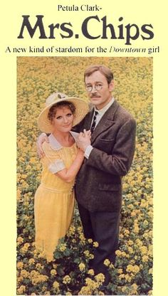 Goodbye, Mr. Chips, with Peter O'Toole and Petulia Clark (1969) ~ Lovely film, story, and score!