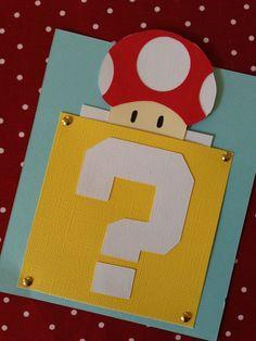 10 Super Mario Bros Invitations by ShannaRaeH on Etsy, $24.00