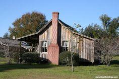 Dogtrot House · Texas, Louisiana, Mississippi, Alabama, Georgia, Tennessee, Florida
