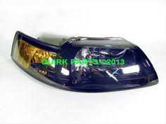 2001-2004 Ford Mustang RH Passenger Side Headlight Smoke Colored OEM NEW Genuine #Ford