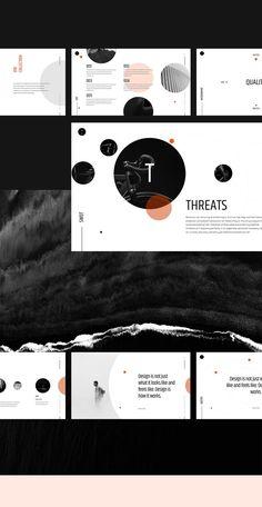 35 super Ideas for design presentation portfolio behance Ppt Design, Powerpoint Design Templates, Design Brochure, Creative Powerpoint, Keynote Template, Layout Design, Icon Design, Booklet Design, Design Posters