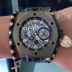 91180466f00 Hublot Big Bang Ferrari Magic Gold Limited Edition of 500 Watch. 45mm  polished Magic gold