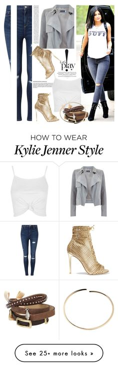 """""""jeans and heels"""" by lushxoxo on Polyvore featuring Mint Velvet, Miss Selfridge, Topshop, TOKYObay, Gianvito Rossi and Maison Margiela"""