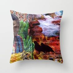 Buy #Southwest Throw #Pillow by ArtbyJudi. Worldwide shipping available at Society6.com.