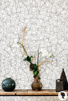Mesh Pattern Self Adhesive Removable Wallpaper by Livettes on Etsy