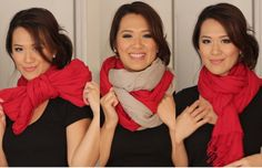 6 Ways To Tie a a Scarf For A Stylish And Warm Winter