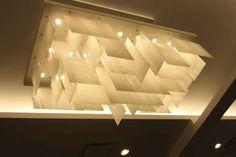 Surface-mounted light fixture / hanging / recessed / halogen - PELEG : PLICE - Shakuff - exotic glass lighting & decor
