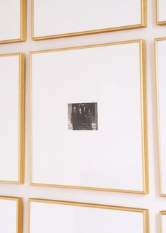 Great idea for my ancestry wall!  LOVE these frames (link to them in the post)