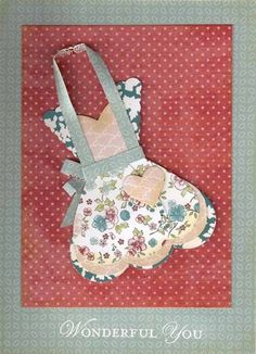Wonderful You Apron by Alene - Cards and Paper Crafts at Splitcoaststampers