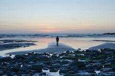 A peaceful horizon on Crackington Haven beach in Cornwall    Richard Gibbins of Chelmsford, Essex