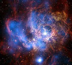 Galaxy M33 (NASA, Chandra) by NASA's Marshall Space Flight Center