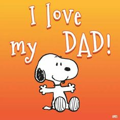 Snoopy dad s day