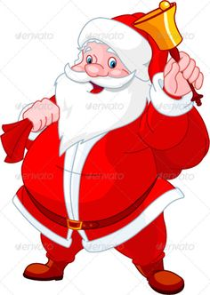 Happy Santa with bell  #GraphicRiver         Santa Claus with sack of gifts, ringing in a bell     Created: 12September11 GraphicsFilesIncluded: VectorEPS Layered: No MinimumAdobeCSVersion: CS Tags: bell #cartoon #celebration #character #cheerful #christmas #claus #clip-art #congratulation #gift #giftware #greeting #happy #holiday #illustration #klaus #north #party #pleasure #present #red #sack #santa #senior #tradition #vector #winter