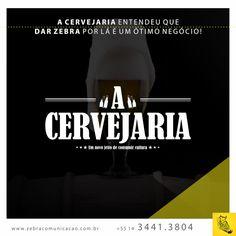 Mais uma parceria fechada. #parceria #cliente #DeuZebra #Zebra #cervejaria #acervejariabrewpub #beer #MídiaSocial #Facebook #Instagram