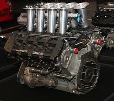 1988 Yamaha V8 DOHC Formula 1 Racing Engine- Model OX77