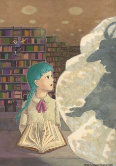 """『それは唐突に』北原 千 """"Sudden Encounter""""  By Sen Kitahara, アクリル, art, acrylic"""