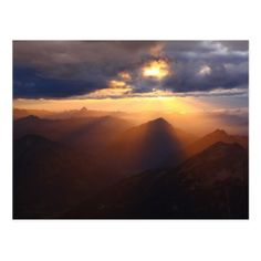 Zugspitze Peak Germany Postcard - postcard post card postcards unique diy cyo customize personalize