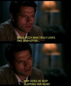 """And finds porn to be confounding. ------ Why Castiel Is Everyone's Favorite On """"Supernatural"""" (Just for the record Dean is my favorite) Loki, Lito Rodriguez, Supernatural Tv Show, Supernatural Tattoo, Supernatural Pictures, Supernatural Imagines, Supernatural Wallpaper, Fandoms, Super Natural"""
