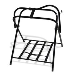 High Country Plastics Free Standing Floor Saddle Rack - The High Country Plastics Free Standing Floor Saddle Rack folds up quickly for easy storage. And that's not all - the durable steel tubing has. Tack Room Organization, Saddle Cover, Saddle Rack, Tidy Up, Folded Up, Folding Chair, Outdoor Chairs, Flooring, Steel