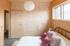 Photo 10 of 13 in A Victorian Button Factory Is Reimagined as a Trio of Timber-Clad Lofts - Dwell Timber Wall Panels, Timber Walls, Stylish Home Decor, Affordable Home Decor, London Real Estate, Button Factory, Warehouse Living, Architects London, House Photography